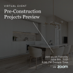 Pre-Construction Preview Seminar - June 8th